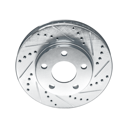 Cross Drilled And Slotted Rotors Thumb Image Two