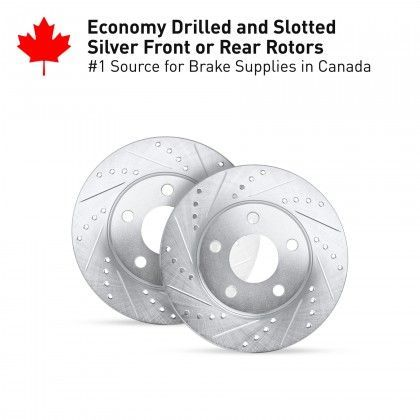 Cross Drilled And Slotted Rotors Image One