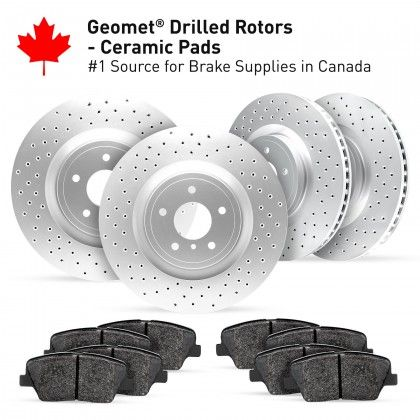 Drilled Rotors Kits Image One