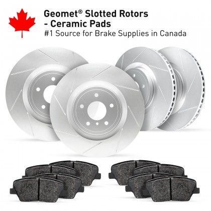 Slotted Rotors Kits Thumb Image One