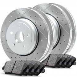 Related Cross Drilled And Slotted Rotors Kits CPC2