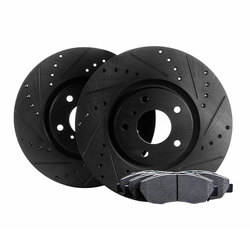 Related Cross Drilled And Slotted Rotors Kits RBC