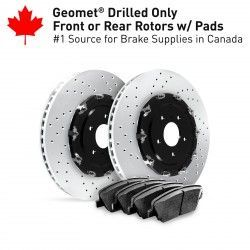 Related Drilled Rotors Kits RPX-GTR