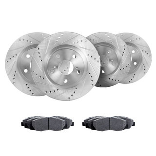 Related item Cross Drilled And Slotted Rotors Kits CEC