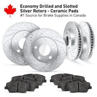 Related item Cross Drilled And Slotted Rotors Kits CEDS