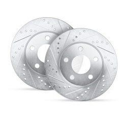 Cross Drilled and Slotted Rotors product