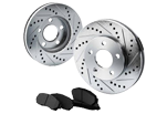 Cross Drilled And Slotted Rotors Kits from canadabrakes