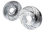 Cross Drilled And Slotted Rotors from canadabrakes